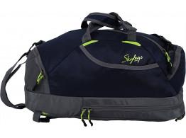Skybags Flip 3 Way Blue Duffel Backpack