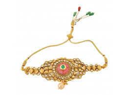 Spe Indian Ethnics Golden Copper Bajuband for Women (A-06)