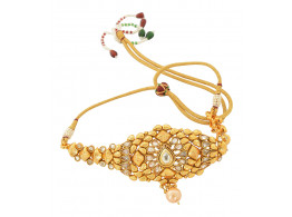 Spe Indian Ethnics Golden Copper Bajuband for Women (A-10)