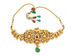 Spe Indian Ethnics Golden Copper Bajuband for Women (A-11)