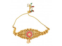 Spe Indian Ethnics Golden Copper Bajuband for Women (A-18)