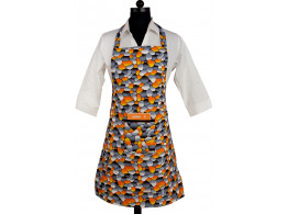 Switchon Printed waterproof cotton apron