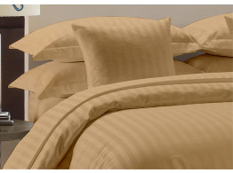 Egyptian Cotton Beddings Bed Sheet With Pillow Covers - Taupe
