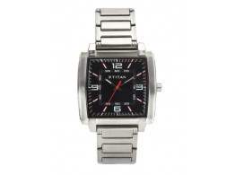 Titan1586SM02 Men Black Dial Watch