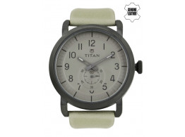 Titan 90025QL01J Men Grey Dial Watch