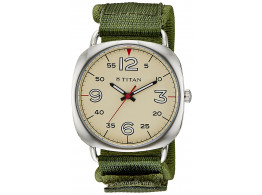 Titan 9471SP01J Youth Analog Beige Dial Men Watch