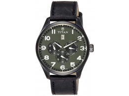 Titan 9483NL03J Purple Multi-Function Analog Men Watch