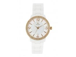 Titan 95017KC01J Women Pearly White Dial Watch