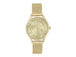 Titan 95020YM01J Gold-Toned Dial Watch