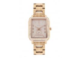 Titan  95042WM01J Women Rose Gold Analogue Watch