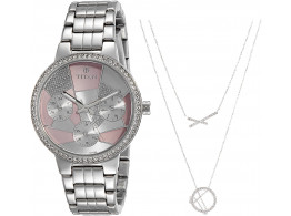 Titan 95058SM01F Analog Pink Dial Women Watch