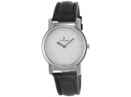 Titan NB1855SL01 Analog White Dial Men Watch