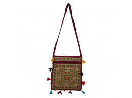 The Living Craft KALAMKARI WOMEN's SLING BAG Multicolor TLCBG0218