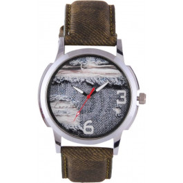 Excel AAJ_Green Analog Watch - For Boys