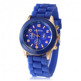 Women's or Girl's Watch Fashion Silicone Strap Candy Color Length 25Cm