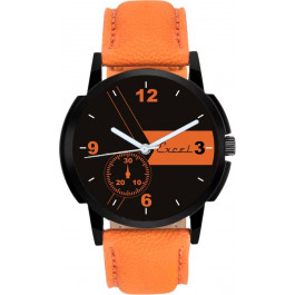 Men's Excel Classy Brown Analog Watch