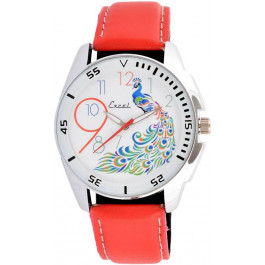 Excel Redpeapock Analog Watch - For Men